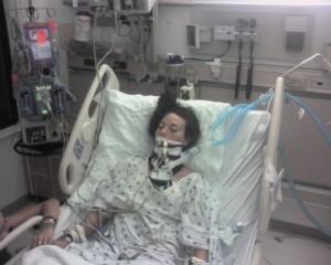 Jessica in ICU